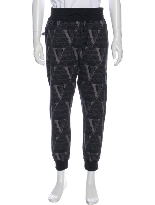 Undercover Printed Joggers Black