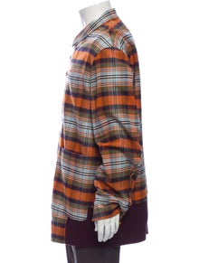 Undercover Plaid Print Jacket