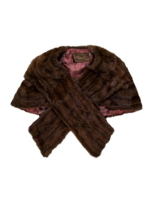 Unsigned Vintage Fur Jacket Brown
