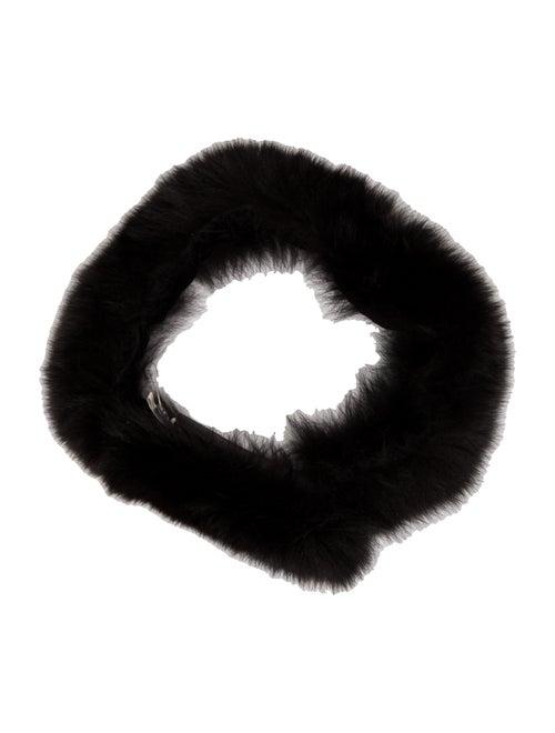 Unsigned Fur Stole Black