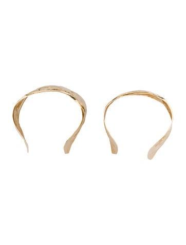 Hammered Cuff Bracelet Set