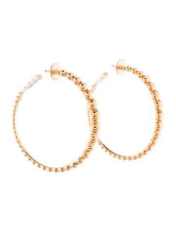 Van Cleef & Arpels Perlée Variation Hoop Earrings