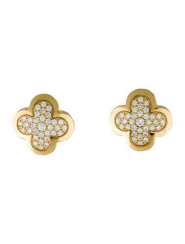 Van Cleef & Arpels Pure Alhambra Earrings