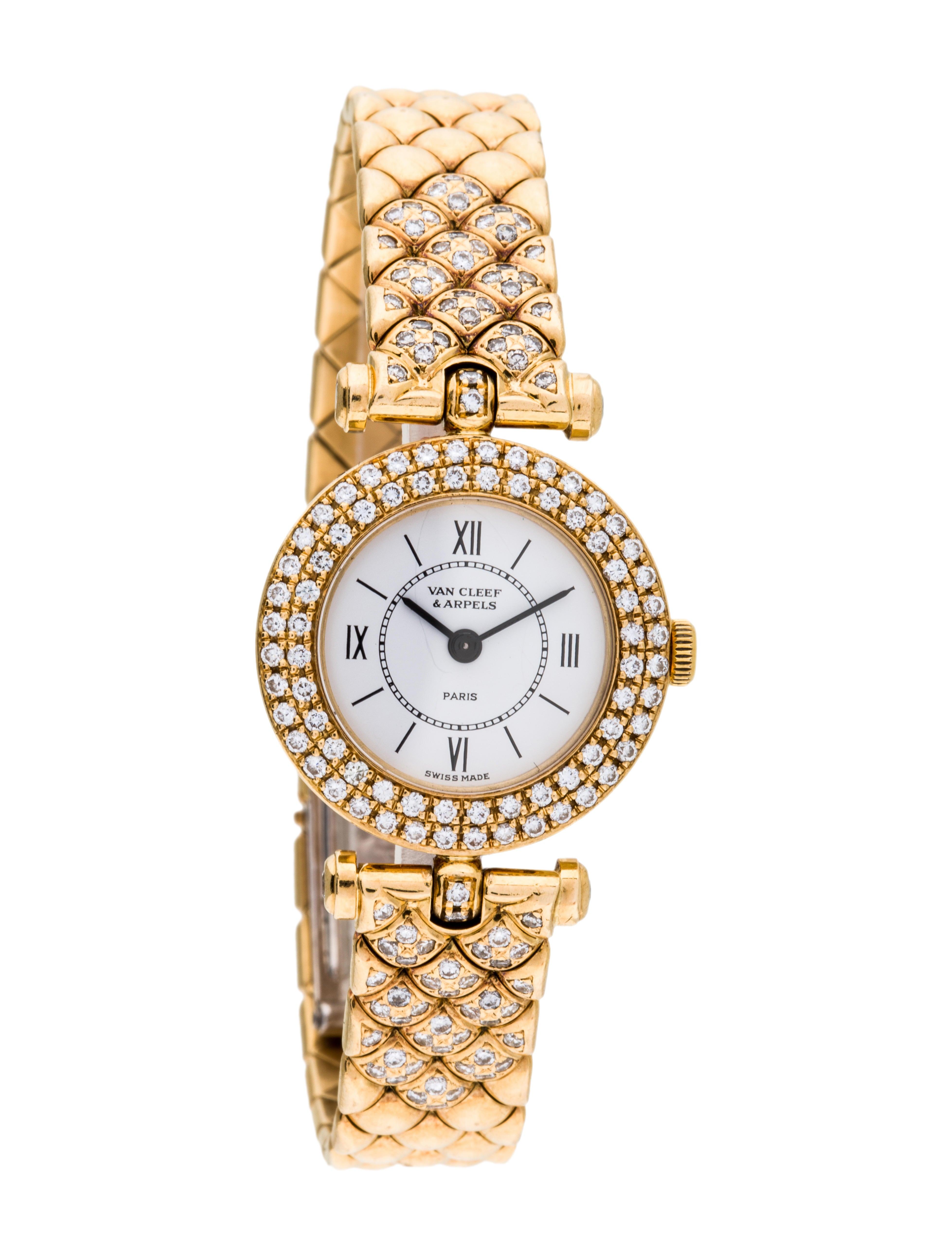 Round Kitchen Tables Van Cleef Amp Arpels Paris Watch Bracelet Vac21022 The