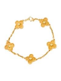 Vintage Alhambra 5 Motifs Bracelet image 1