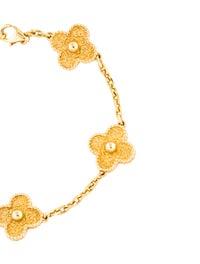 Vintage Alhambra 5 Motifs Bracelet image 3