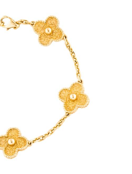 Vintage Alhambra 5 Motifs Bracelet