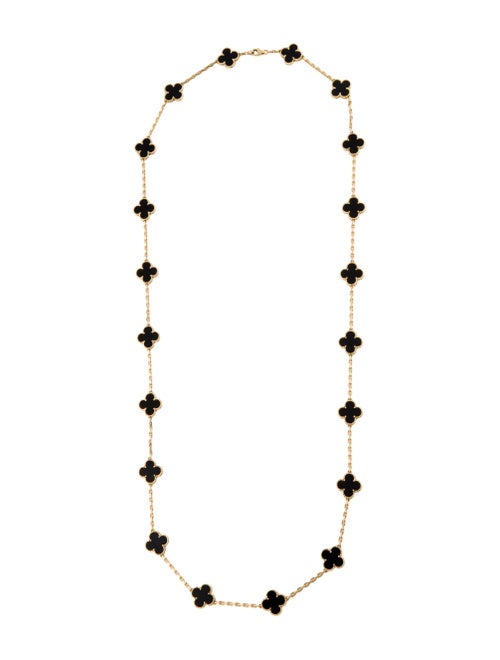 Van Cleef & Arpels Vintage Alhambra 20 Motifs Neck