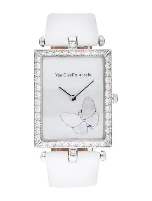 Van Cleef & Arpels Classique Papillon Watch white