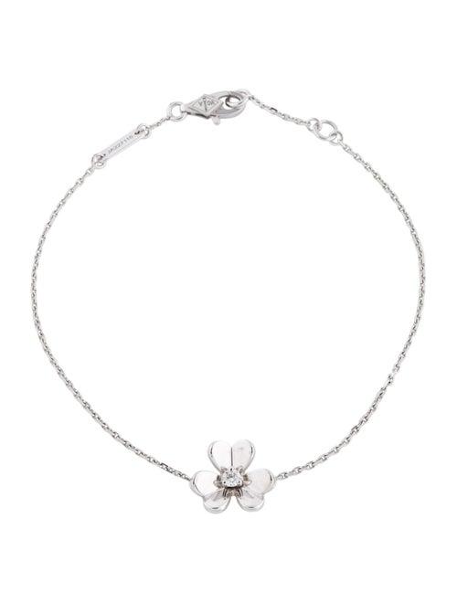 Van Cleef & Arpels Mini Frivole Bracelet white