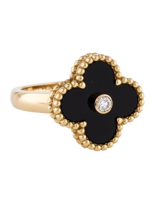 Van Cleef & Arpels Vintage Alhambra Ring yellow