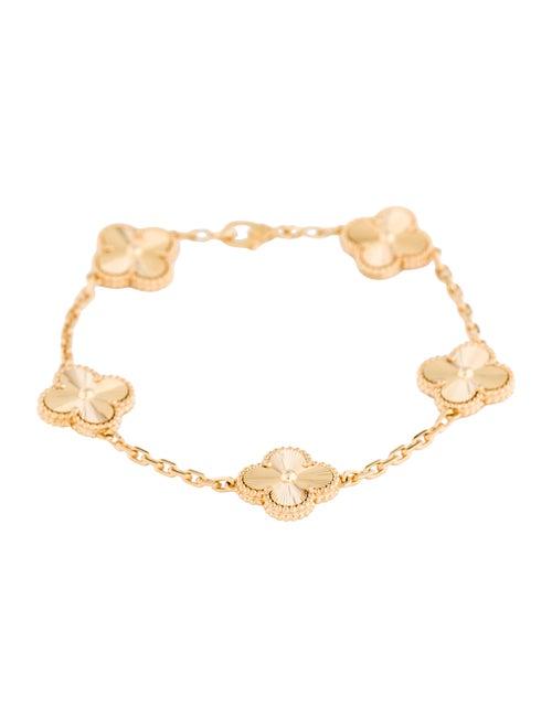 Van Cleef & Arpels 5 Motif Vintage Alhambra Bracel