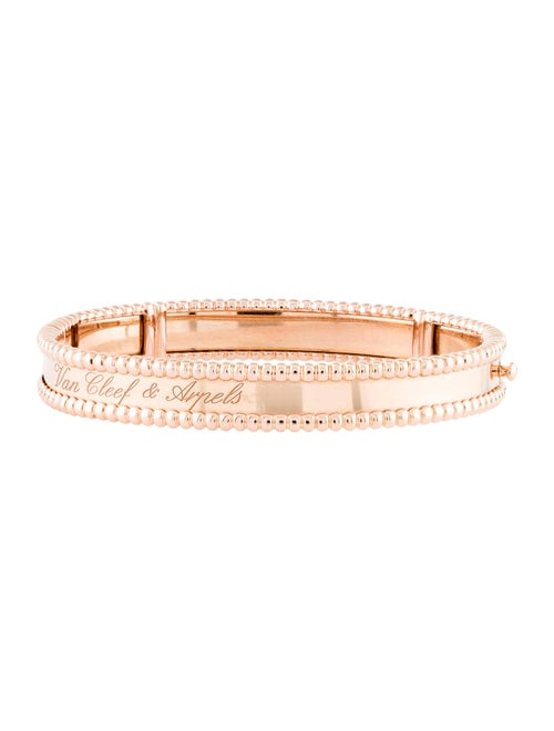 Van Cleef & Arpels Perlée Signature Bracelet Rose