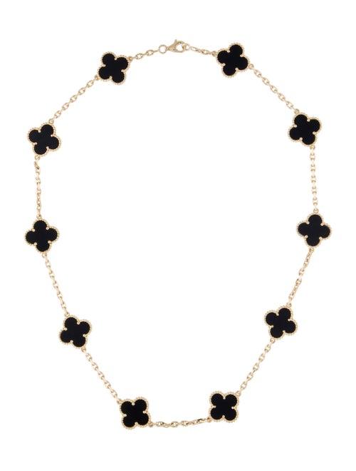 Van Cleef & Arpels Vintage Alhambra Necklace Yello