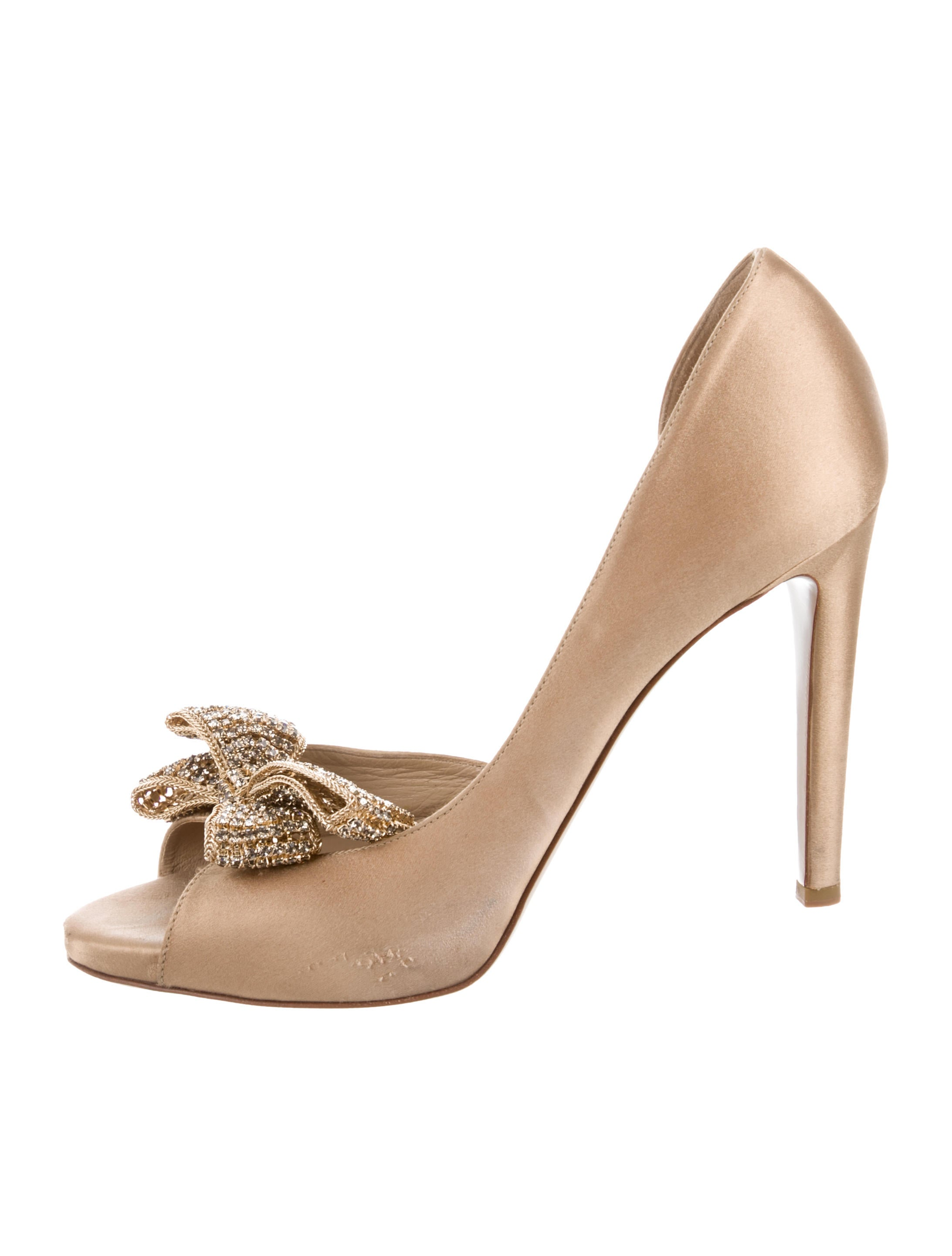 Valentino Embellished Semi d'Orsay Pumps scarpe VAL103800 VAL103800 VAL103800   The   536e16