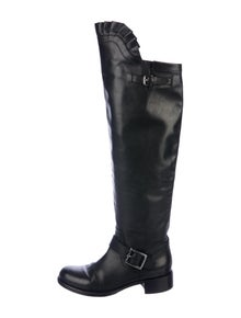 758e3d2e320 Valentino. Leather Over-The-Knee Boots