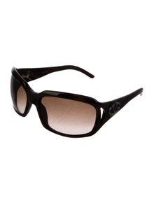 a8d8a3b70cdb Valentino. Square Gradient Sunglasses