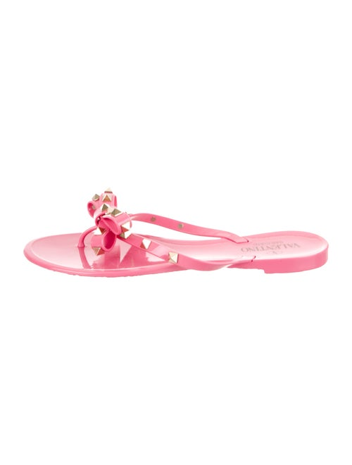 40df10801f56 Valentino Jelly Rockstud Thong Sandals - Shoes - VAL121684