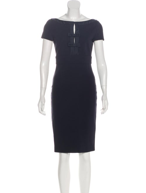 Valentino Accented Sheath Dress