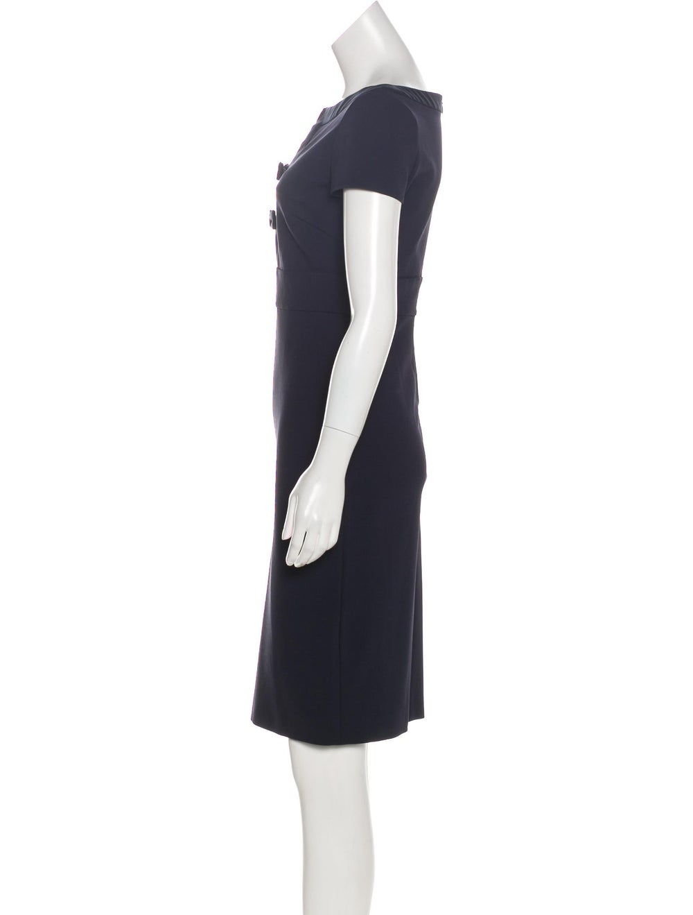 Valentino Accented Sheath Dress - image 2