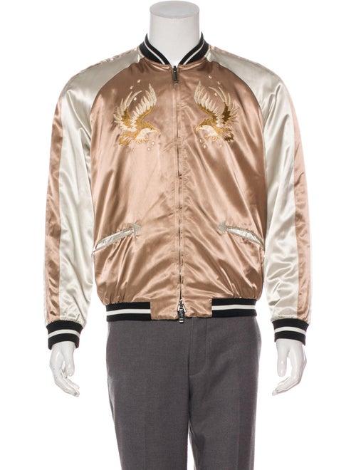 Valentino Reversible Souvenir Jacket rose