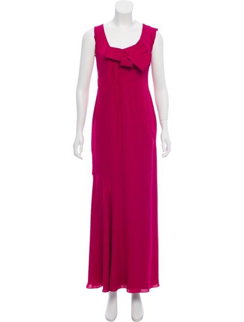 Valentino Silk Evening Dress