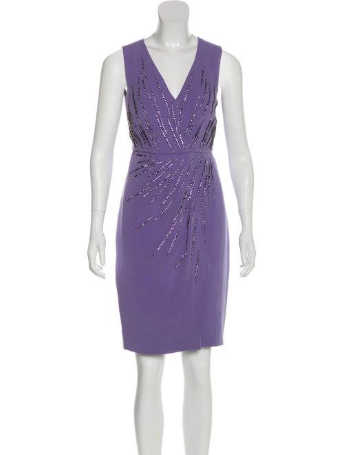 Valentino Silk Embellished Dress
