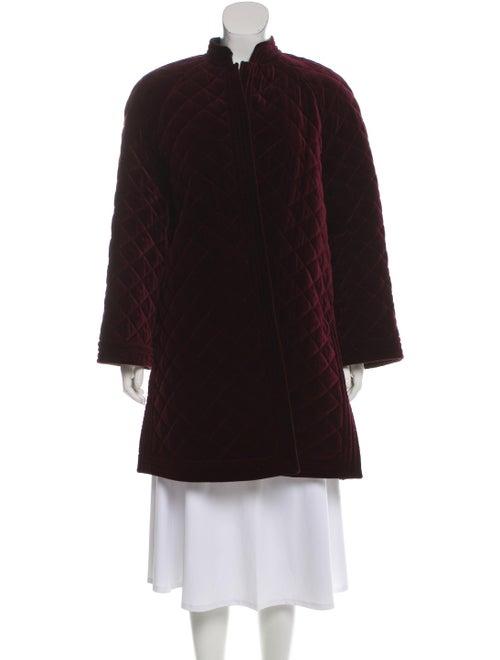 Valentino Velvet Quilted Jacket