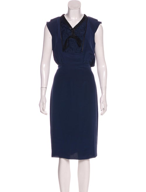 Valentino Silk Sleeveless Dress