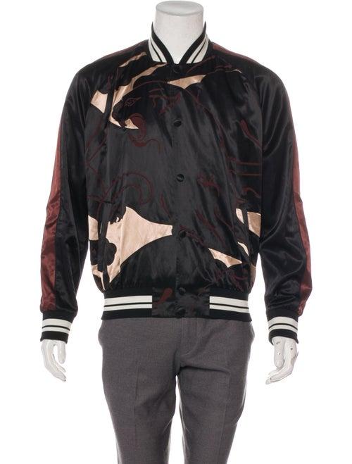 Valentino Souvenir Bomber Jacket black