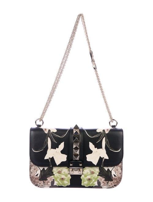 Valentino Glam Rock Shoulder Bag w/ Tags Black