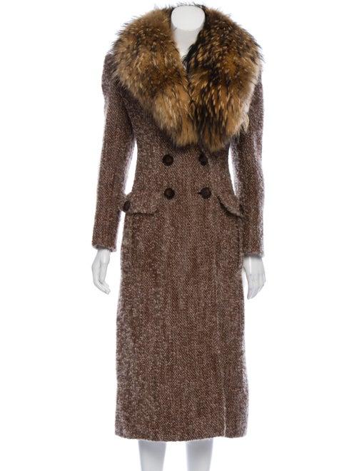 Valentino Vintage Wool Coat Brown