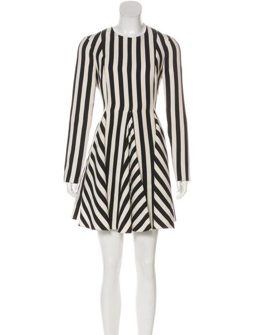 Valentino Valentino Flared Mini Dress white