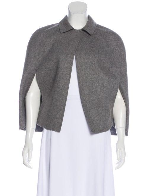 Valentino Wool Cape Wool