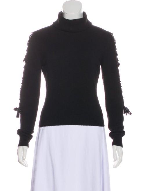 Valentino Turtleneck Sweater Black