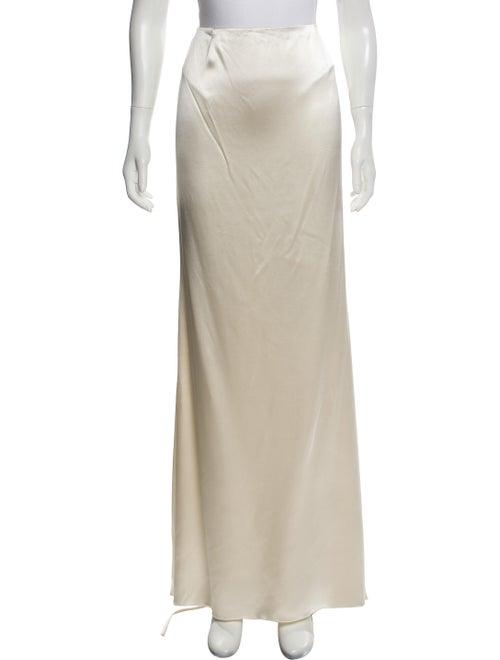 Valentino Silk Long Skirt
