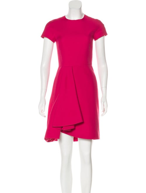 Valentino Wool & Silk-Blend Dress wool