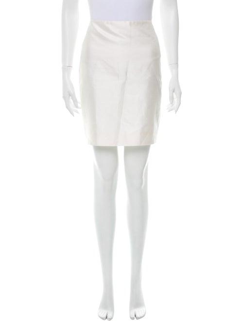 Valentino Mini Skirt White
