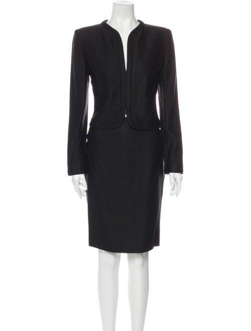 Valentino Skirt Set Black