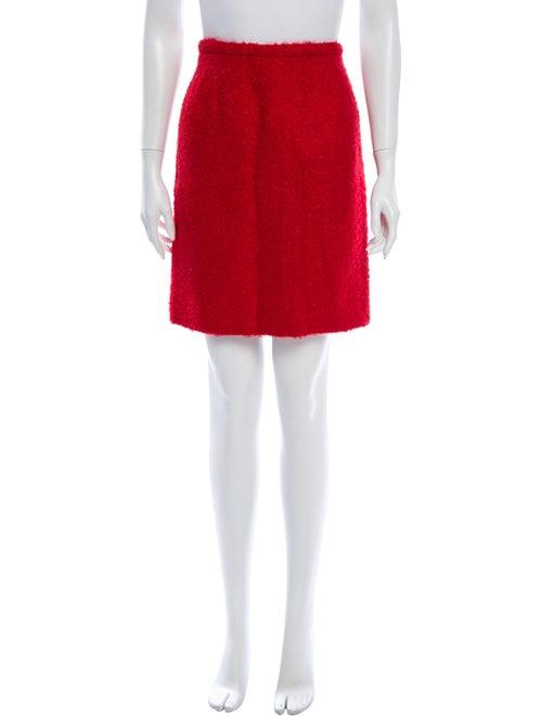 Valentino Mini Skirt Red