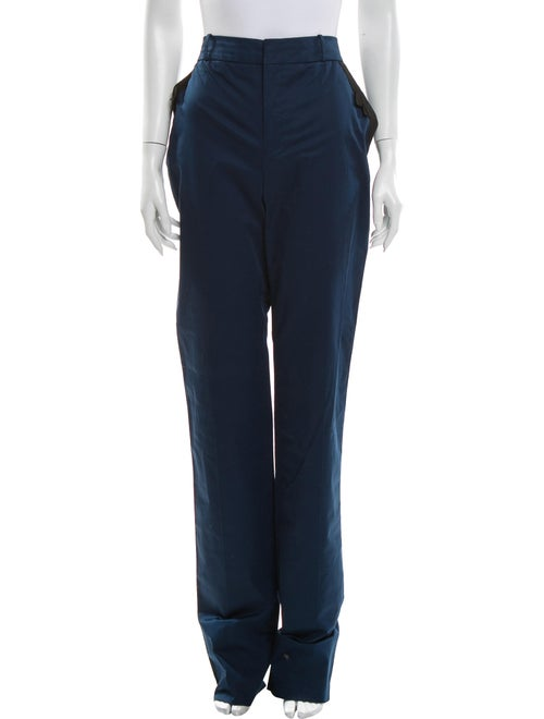 Valentino Straight Leg Pants Blue
