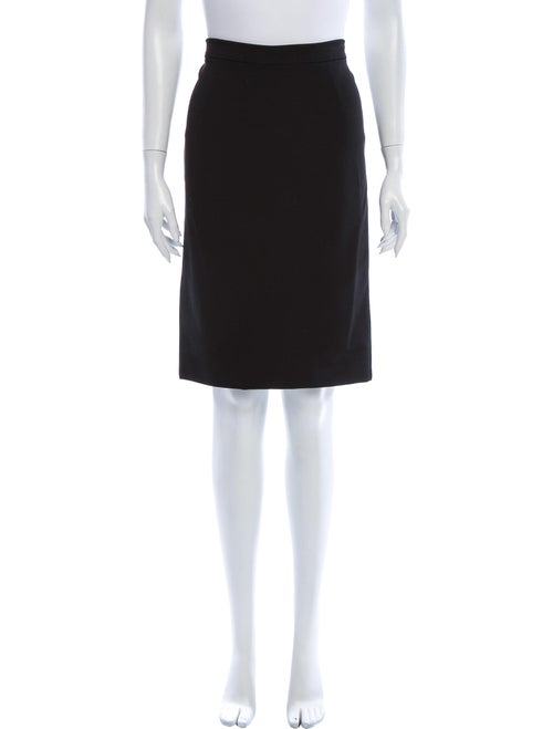 Valentino Knee-Length Skirt Black