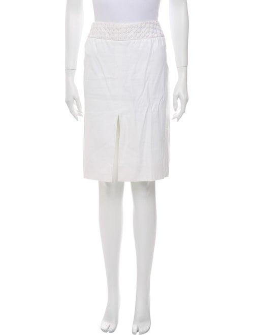 Valentino Knee-Length Skirt White