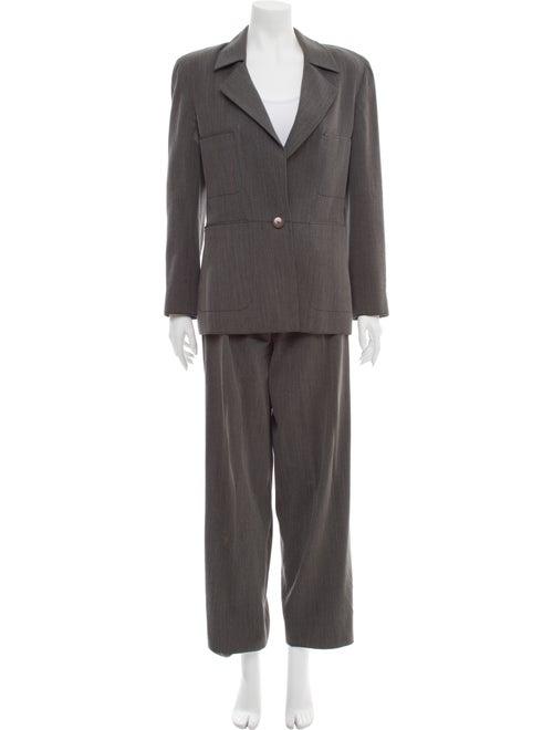Valentino Vintage Wool Pantsuit Wool