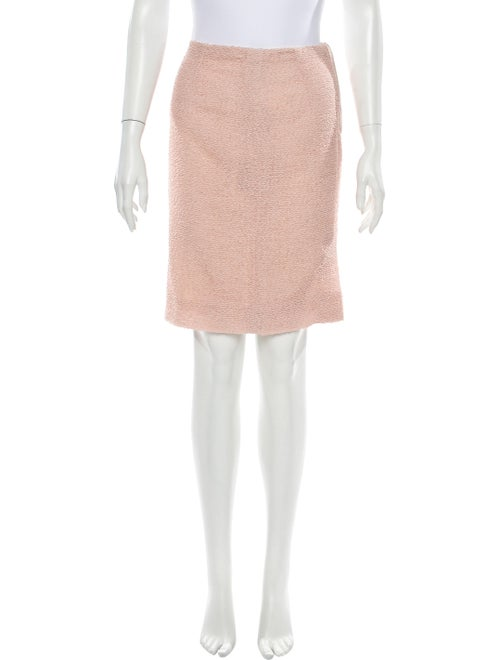 Valentino Knee-Length Skirt Pink