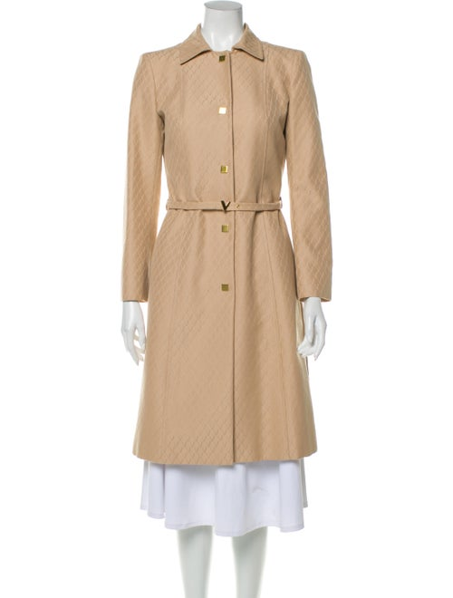 Valentino Trench Coat Brown