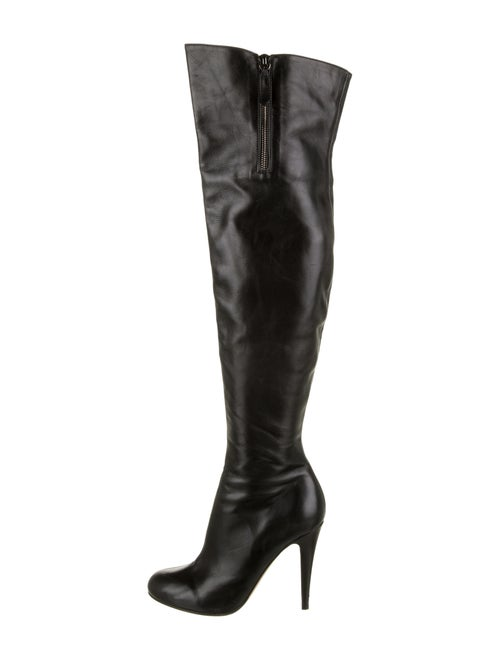 Valentino Over-The Knee Boots Black