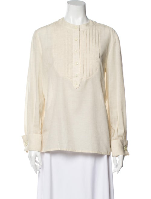 Valentino Vintage Linen Blouse