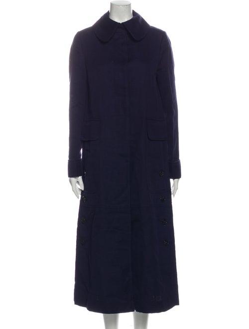 Valentino Trench Coat Blue