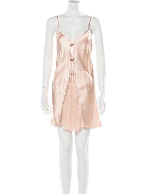 Valentino Vintage Satin Nightgown Pink - image 1